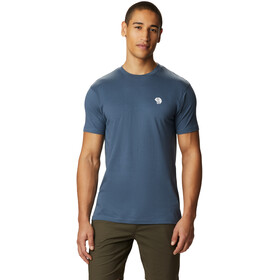 Mountain Hardwear Logo Short Sleeve Tee Men zinc